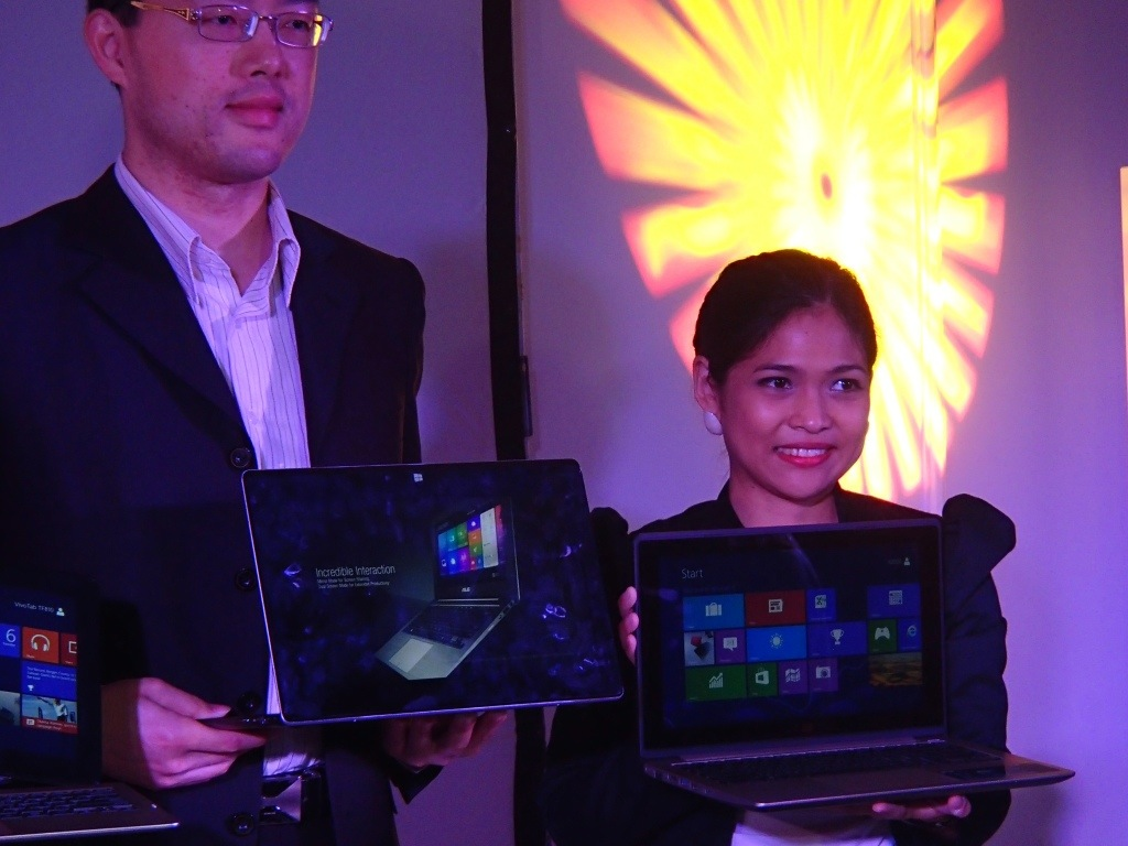 My Asus Lifestyle: Asus Windows 8 Devices Launch in Pictures