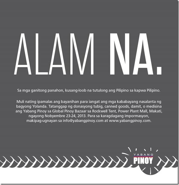 Yabang Pinoy's Global Pinoy Bazaar 2013