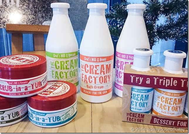 Giveaway Alert: The Cream Factory's Scrub-in-a-Tub!