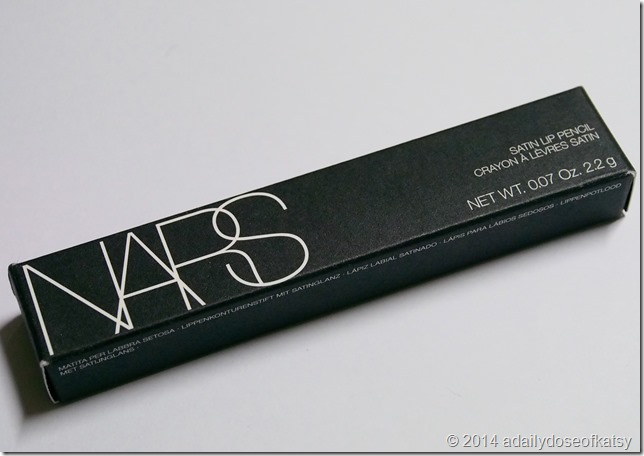 Review | Nars Final Cut Collection (Nordstrom Exclusive): Satin Lip Pencil in Villa Lante