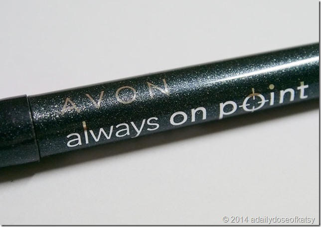 Review + FOTDs | Avon Always On Point Reflective Eyeliner