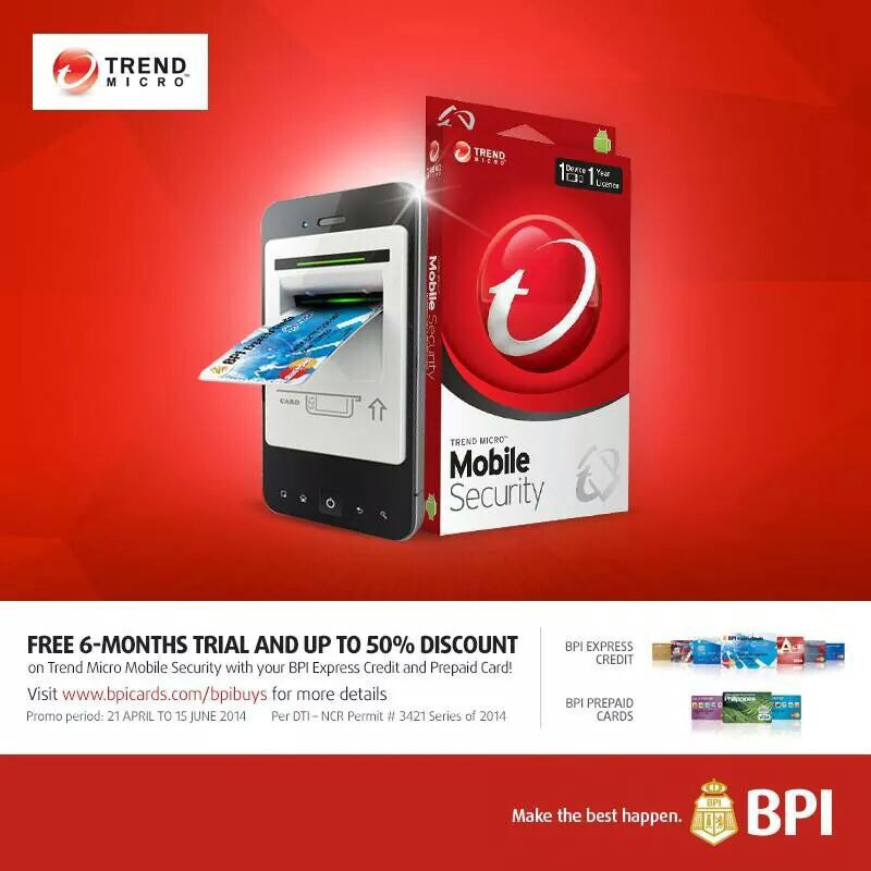 Tech Thursdays: (PR) Trend Micro and BPI Free 6months Trial Offer
