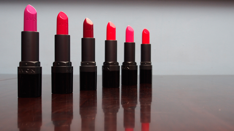 Avon Ultra Color Matte Lipsticks