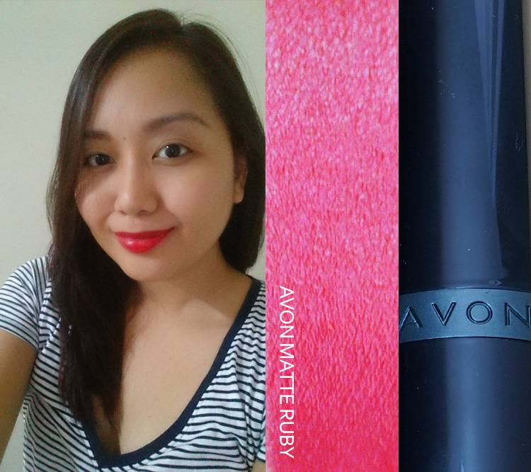 LIP FILED 004: AVON Ultra Color Matte Lipstick in Matte Ruby