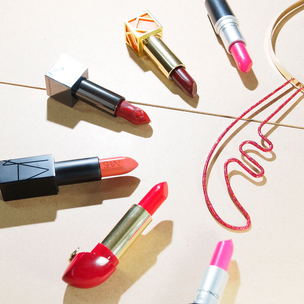 Gift Me Some Lip: a 2014 Holiday Lipstick Collection