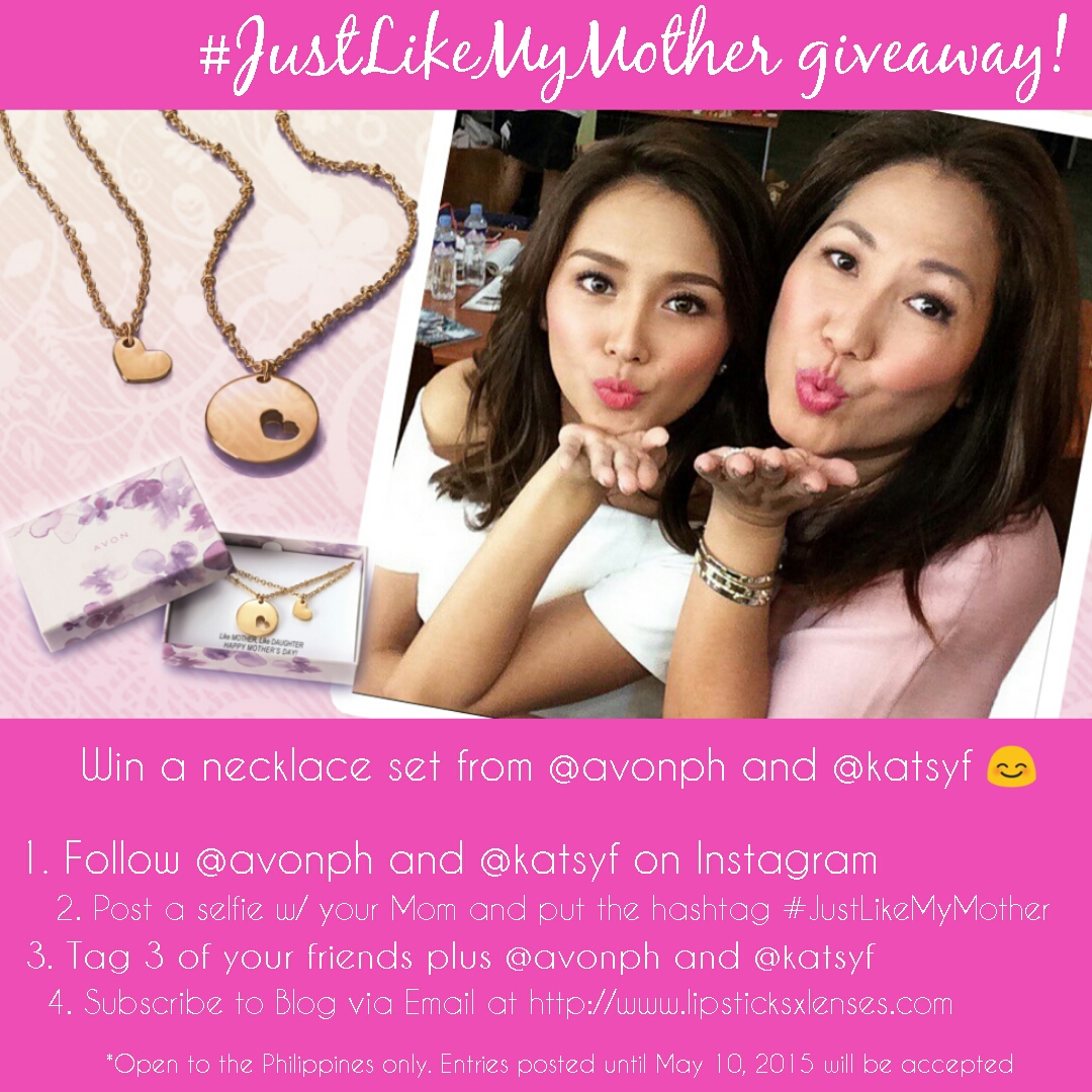 [CLOSED] #JustLikeMyMother Avon Necklace Set Giveaway