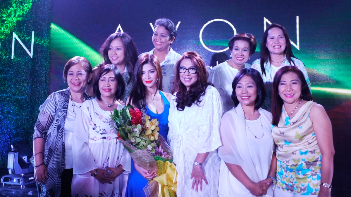 Avon Tropical Paradise Makeup Launch with Angel Locsin