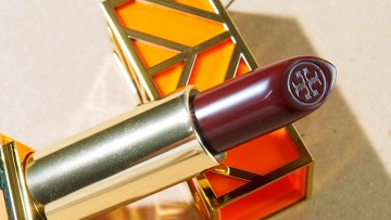 lip[s]talking: Tory Burch Lip Color in Knock on Wood*