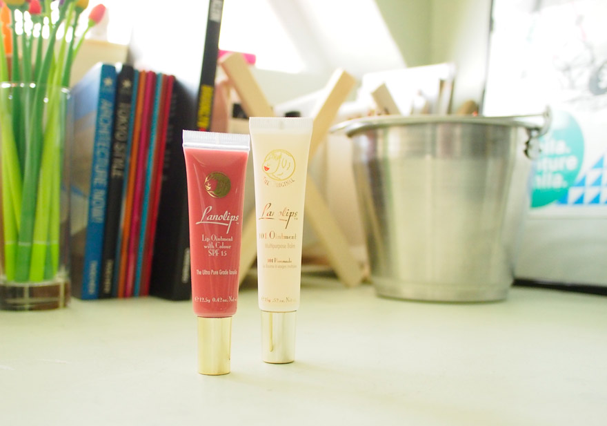Lanolips: My Current Chapped Lips SOS!