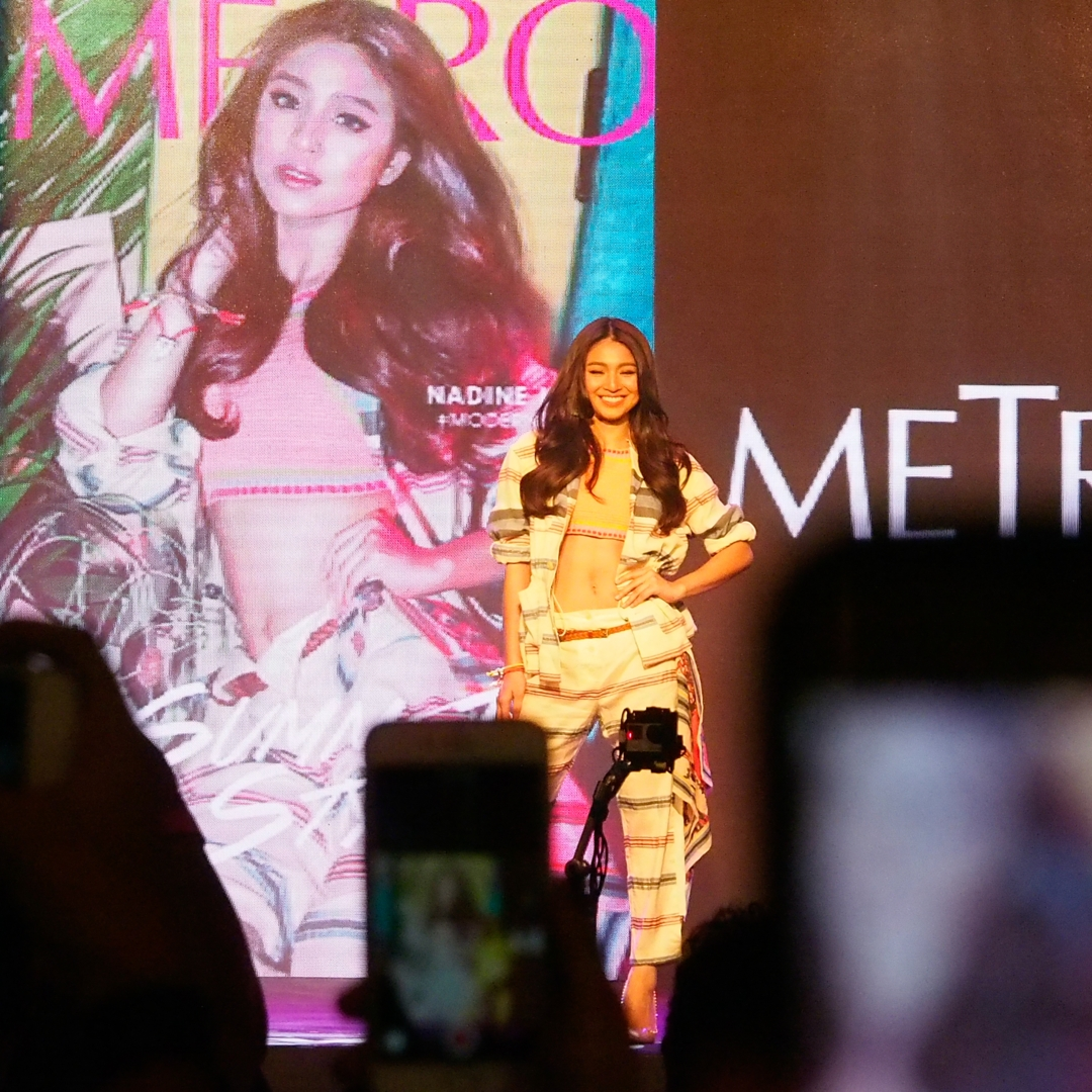 Nadine Lustre for Metro Magazine