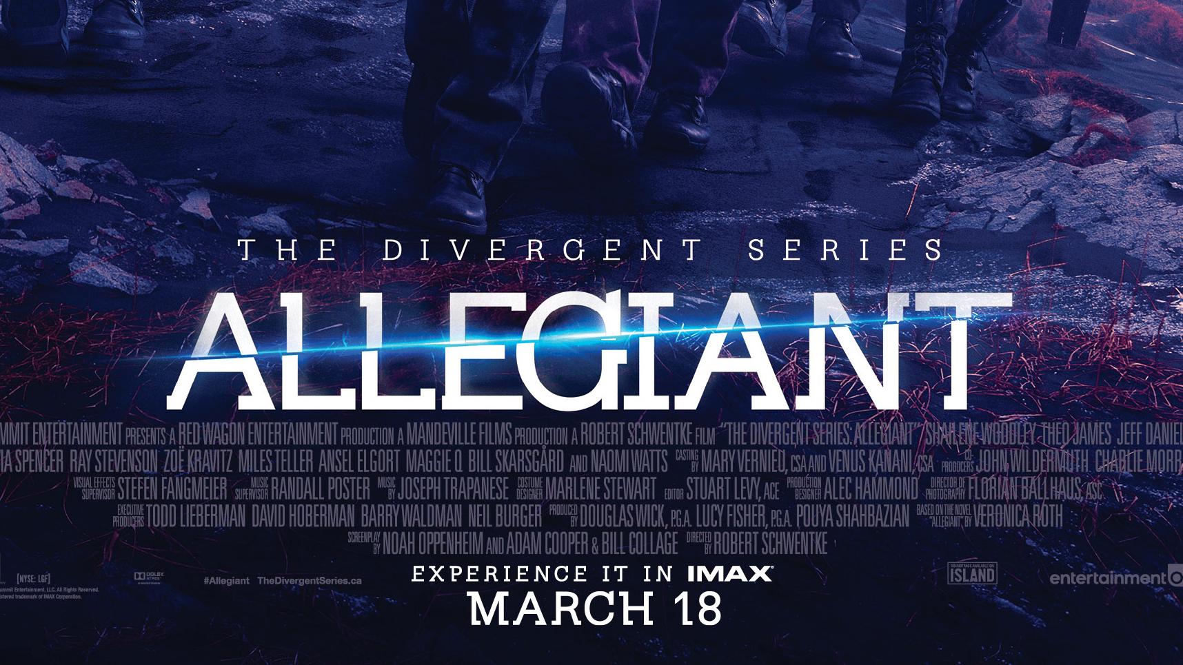 Movie Review : Allegiant