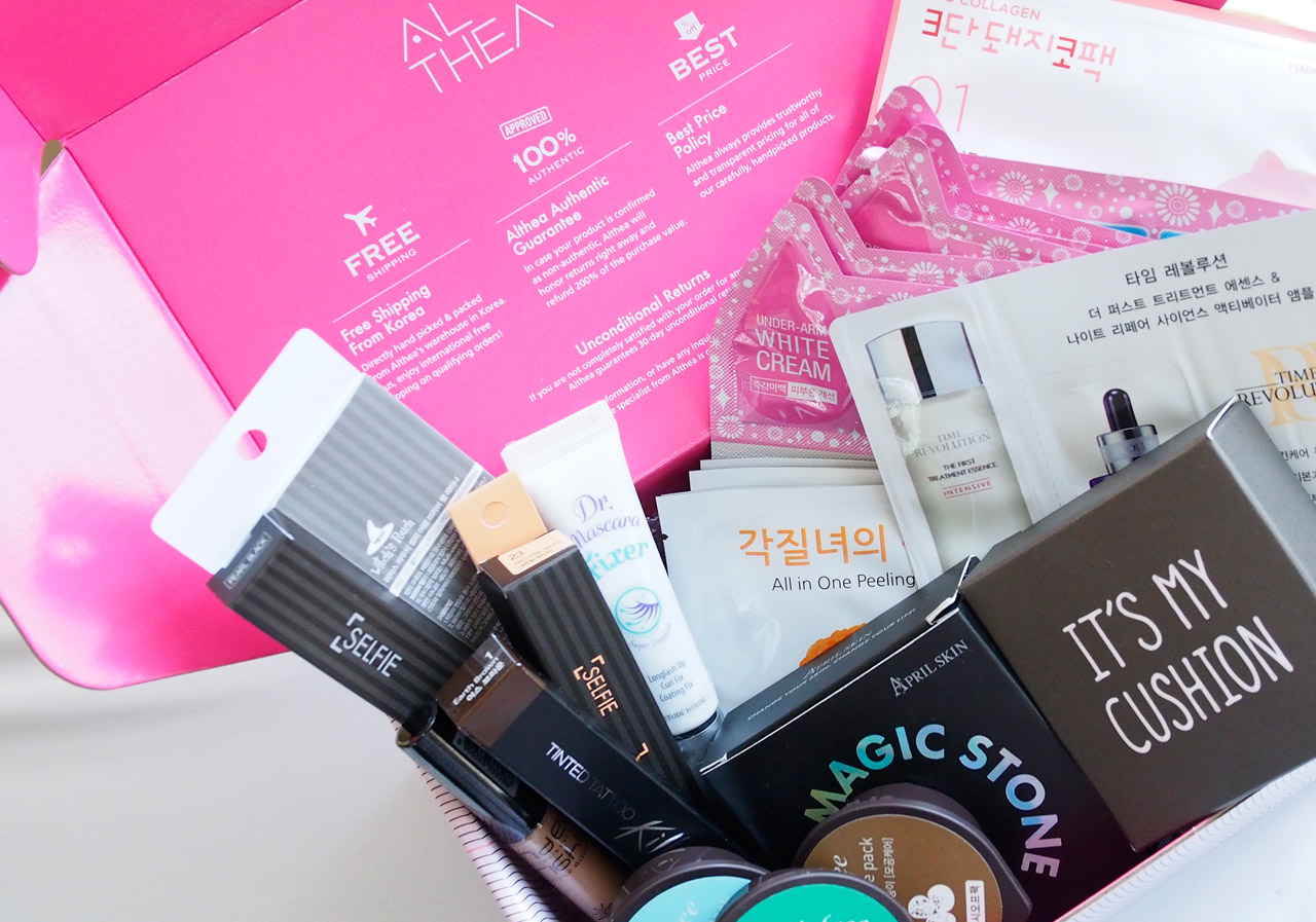 Unboxing My First Althea Korea Haul