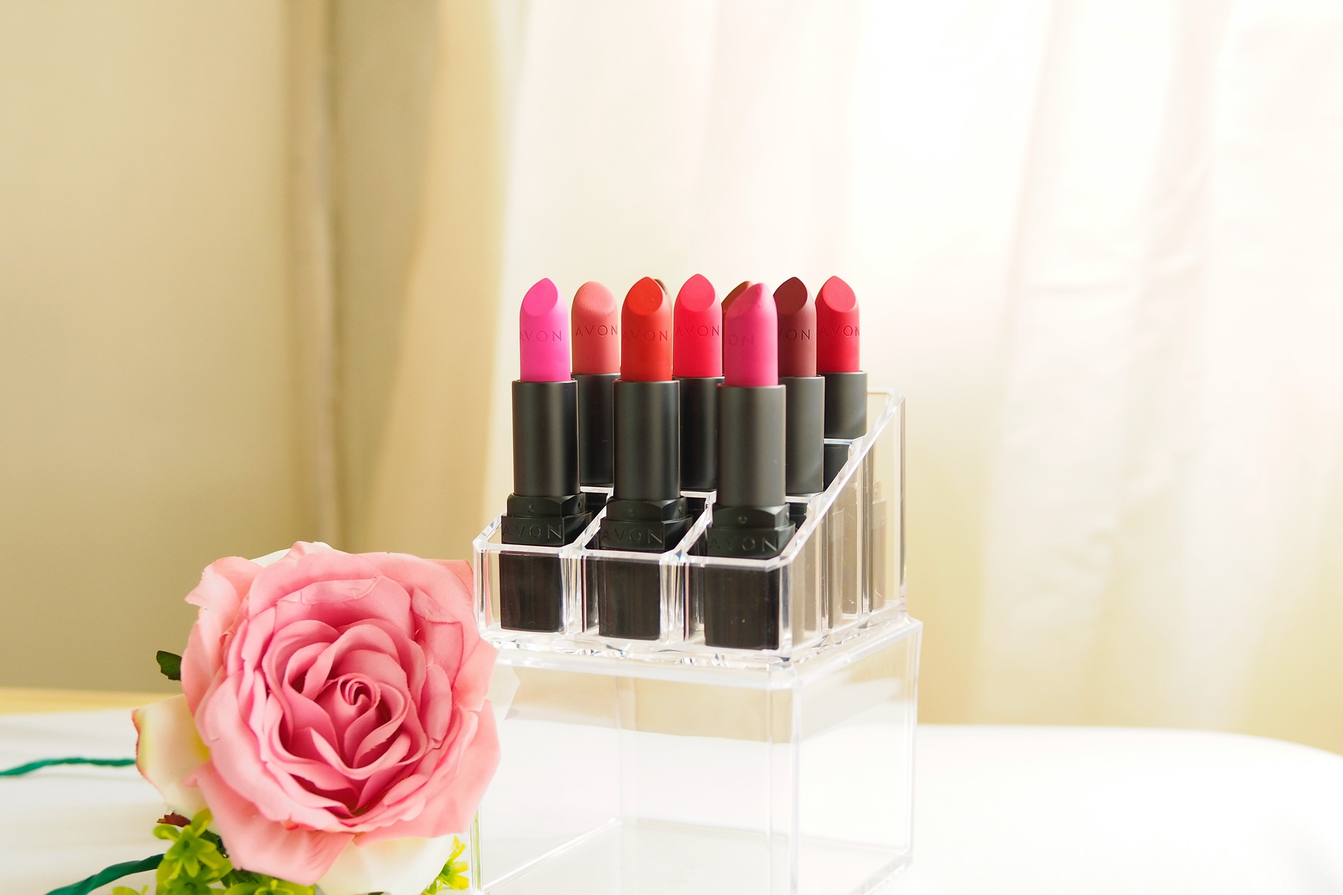 Avon Perfectly Matte Lipstick Swatches and Review