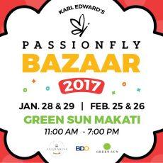 Karl Edward International Passionfly Bazaar at the Green Sun Axon