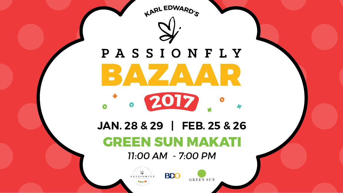 Karl Edward International Passionfly Bazaar at the Green Sun Axon