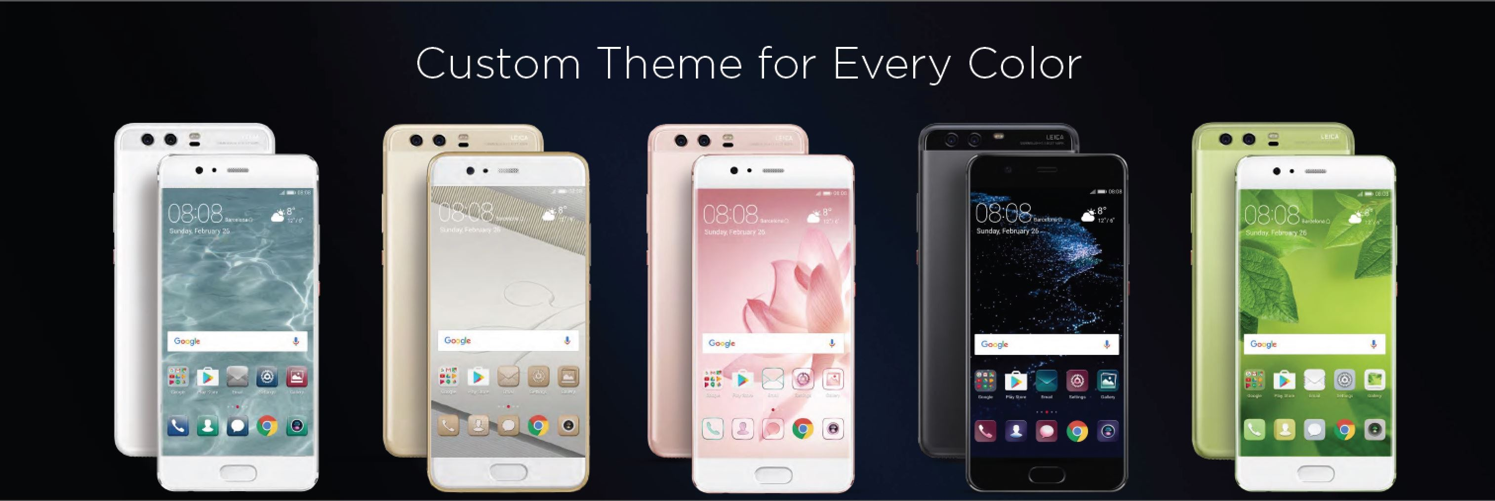 Google themes aesthetic - The Partnership With Ricostru Brings A New Aesthetic To Technology Design Fusing Huawei S Engineering Excellence With