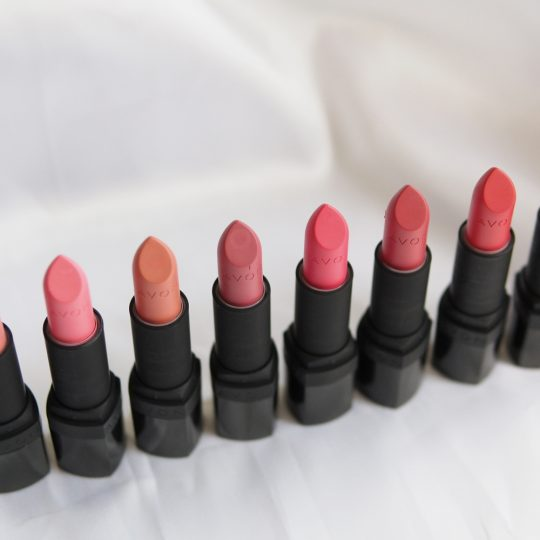 Avon Perfectly Matte Lipstick Swatches including the New Nudes!