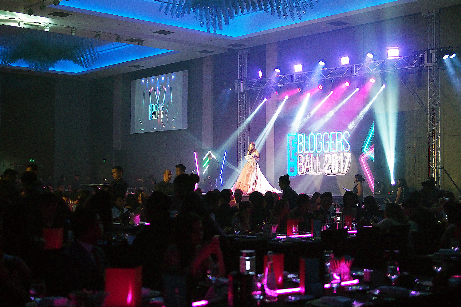 We got to Party at the E Bloggers Ball 2017!