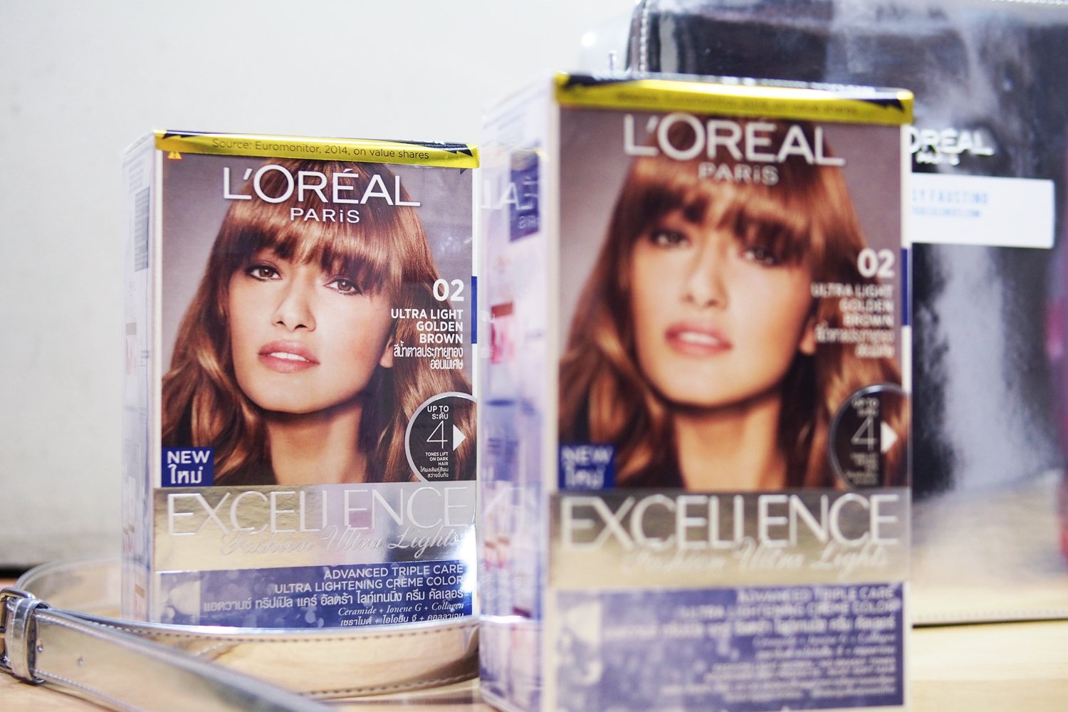 get stronger lighter hair with l oreal ultra light hair color