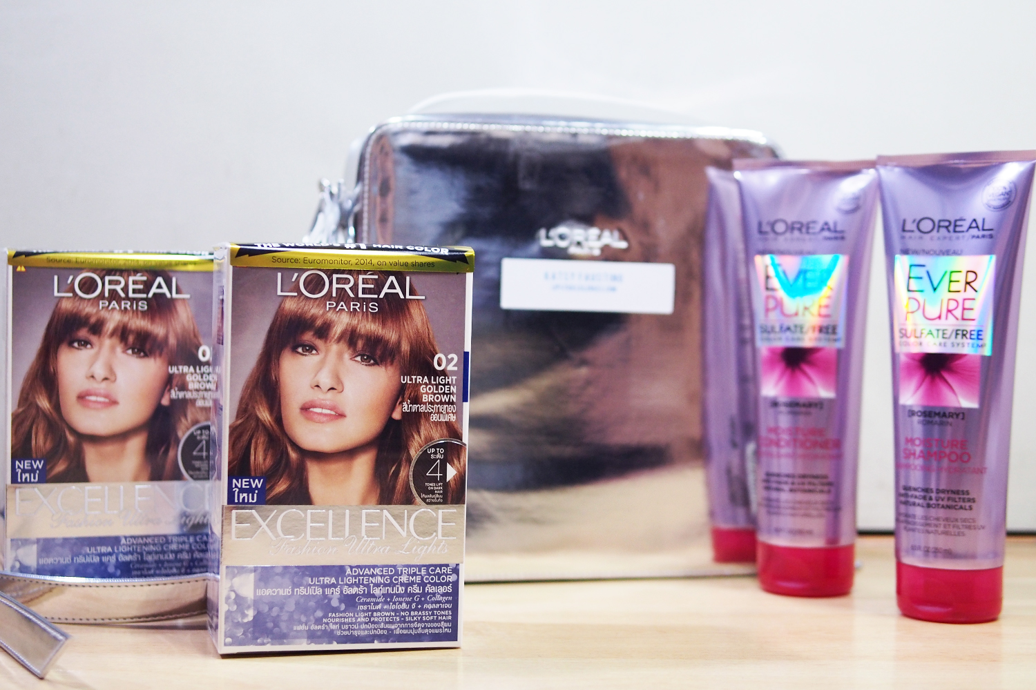 Get Stronger Lighter Hair With Loreal Ultra Light Hair Color