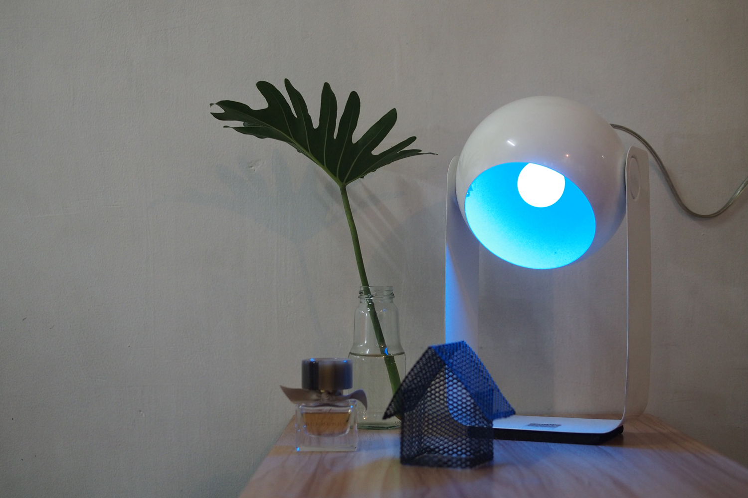Philips Lighting LED Colored Bulb in Blue