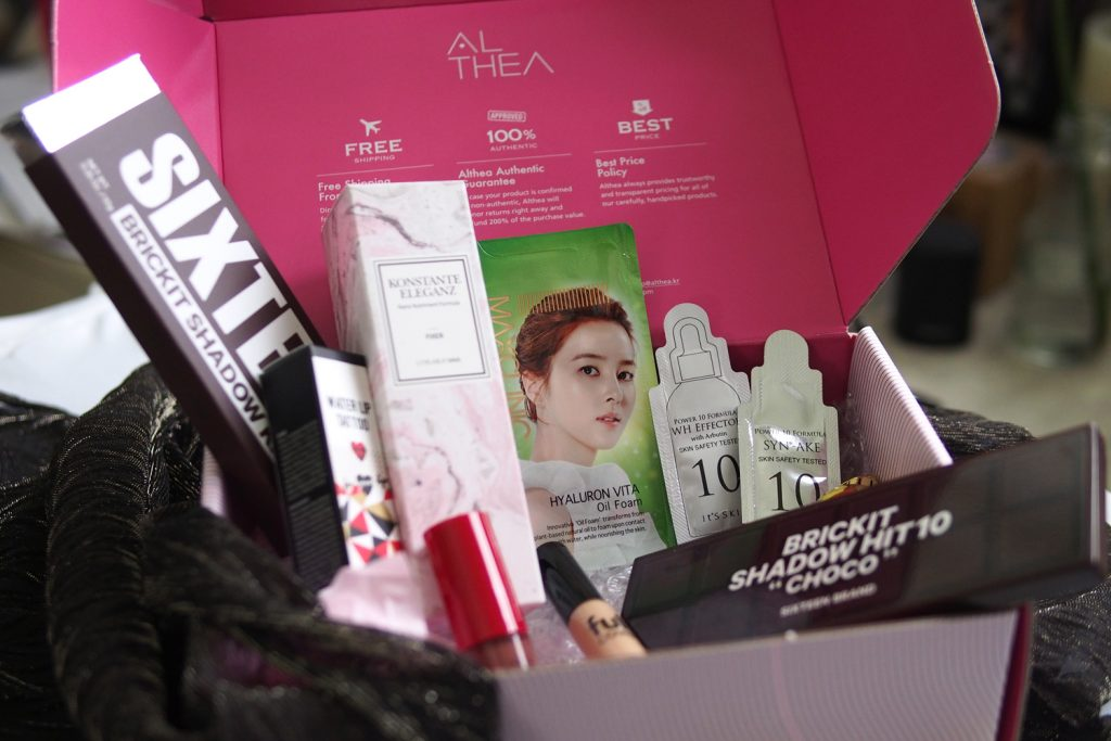 Althea Party All Night Box