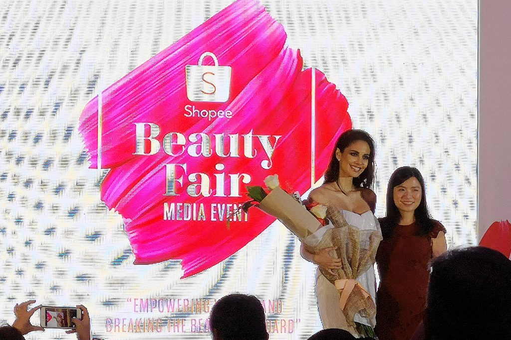 Shopee Beauty Fair with Megan Young
