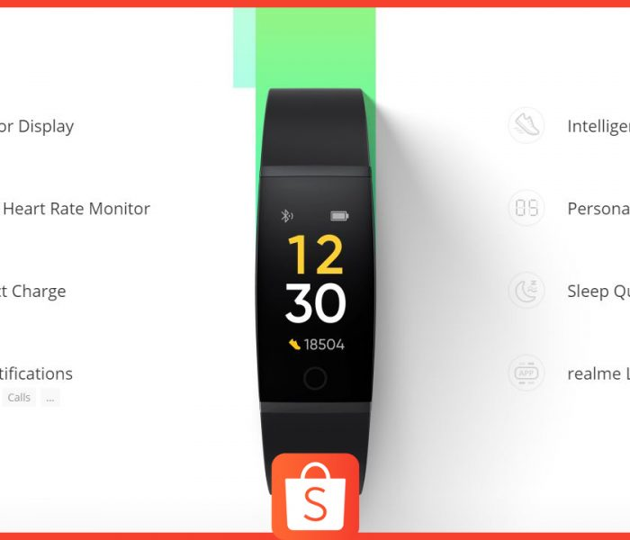 Gift Dad a Realme Fitness Band thru Shopee this Father's Day