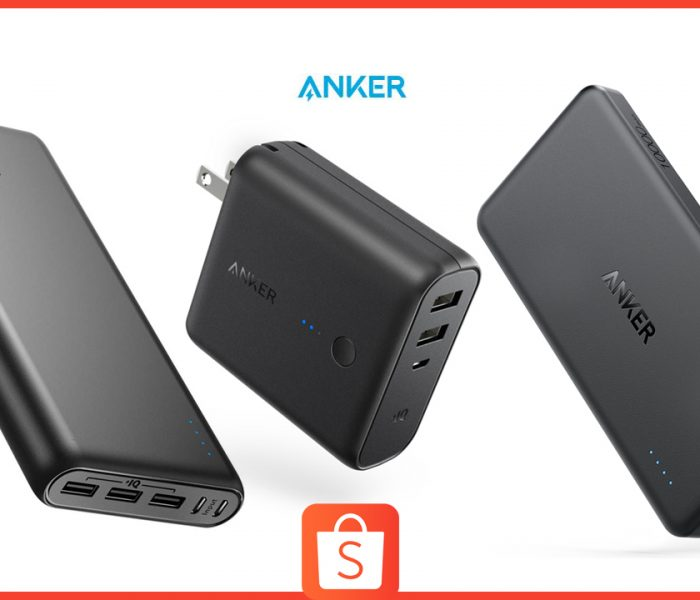 Get Up to 25% off on Anker Powerbanks this Independence Day on Shopee