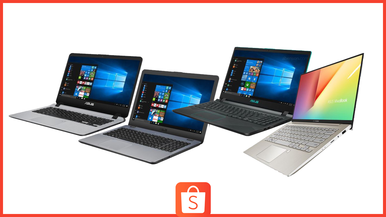 Spruce Up Distance Learning with these Laptops from Asus available at Shopee