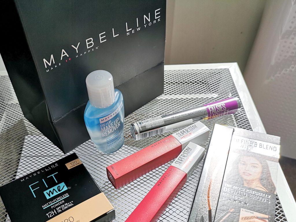 Maybelline Shopee favourites