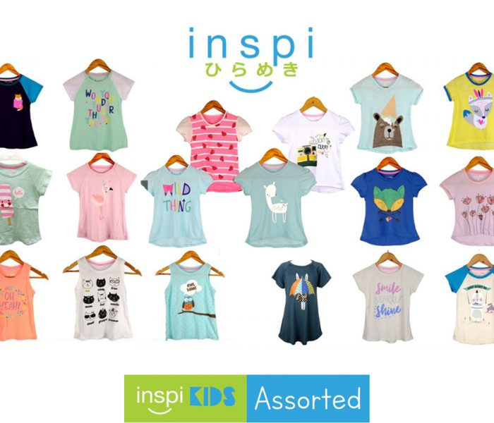 Collect the Inspi Kids Girls Assorted Tops On Sale at  Shopee Super Brands Day  August 10-12