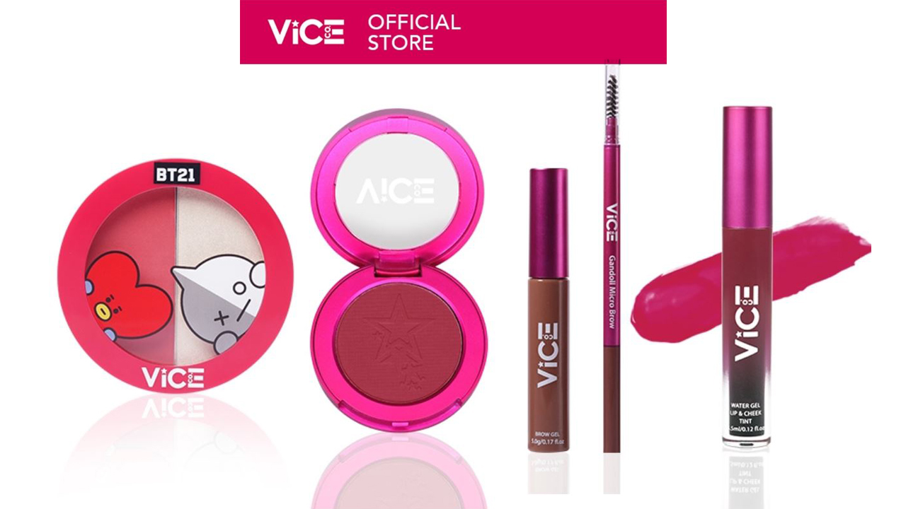 Vice Cosmetics Celebrates its 3rd GANDAnniversary with a Shopee SALE!