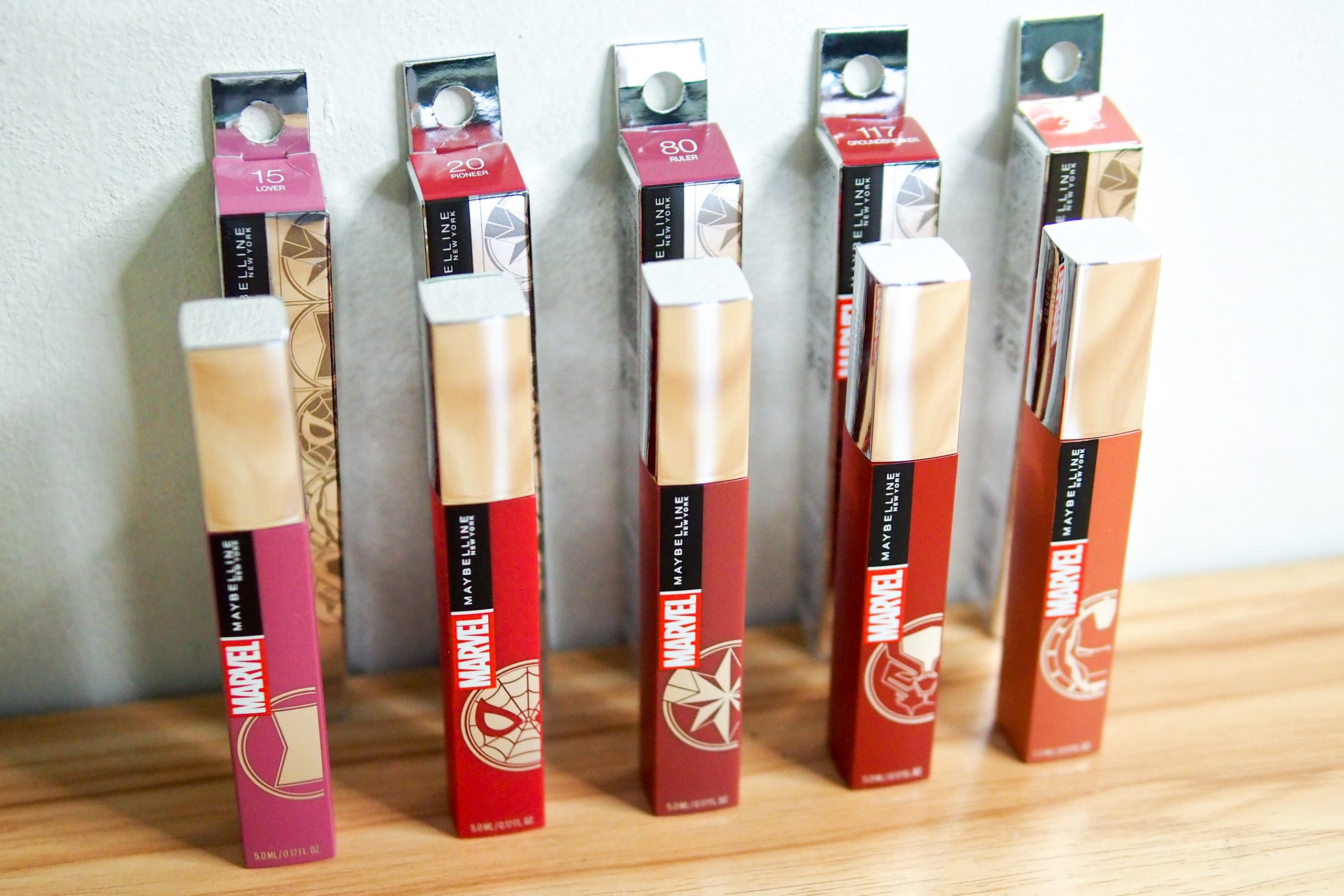 Shopee Brand Day Presents the Maybelline Marvel Collection