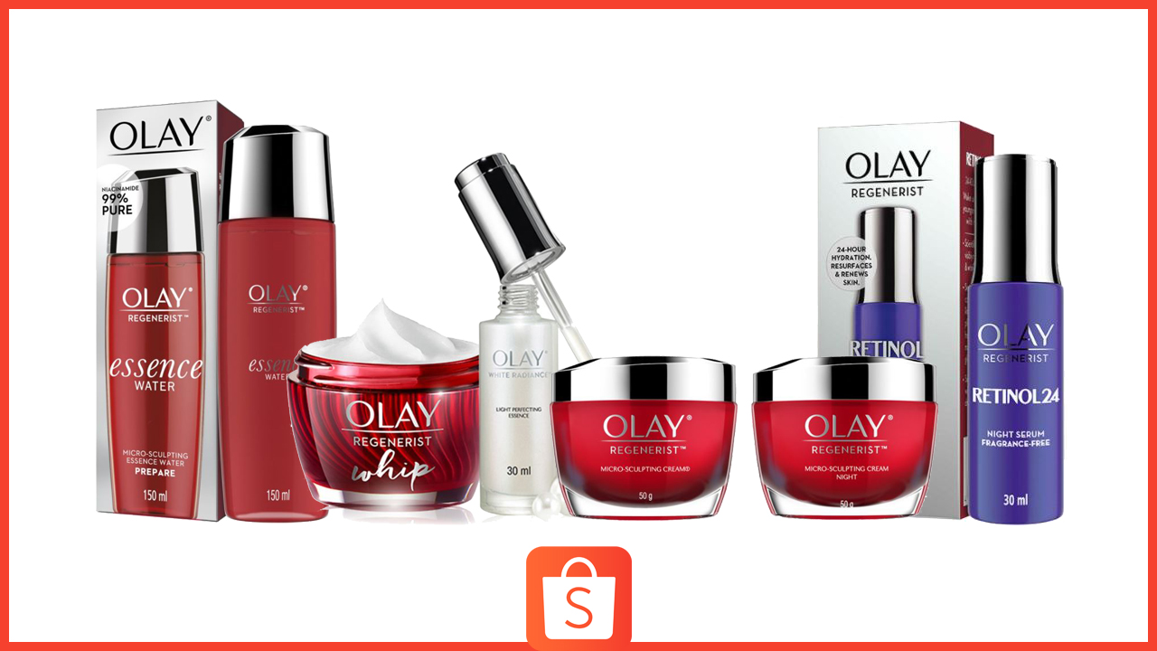 Shopee Sale Alert: Get Up to 45% on Your Favorite Olay Products
