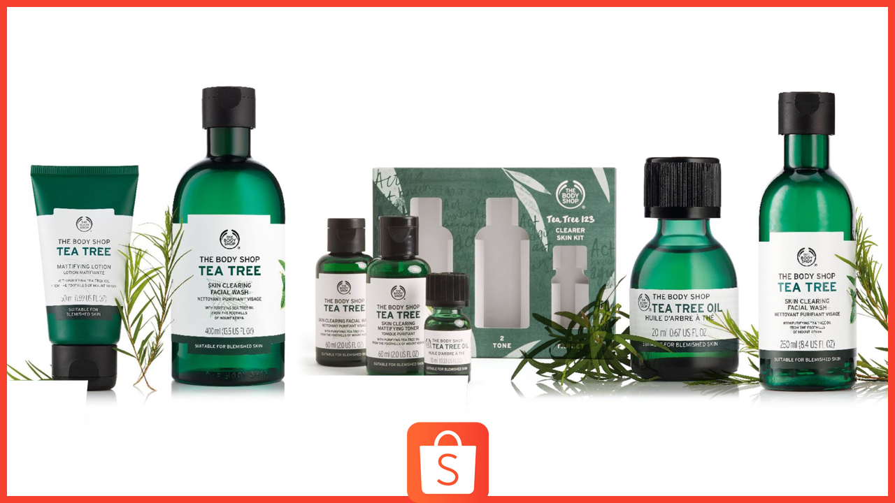 Shopee welcomes The Body Shop with Sale Items up to 50% Off
