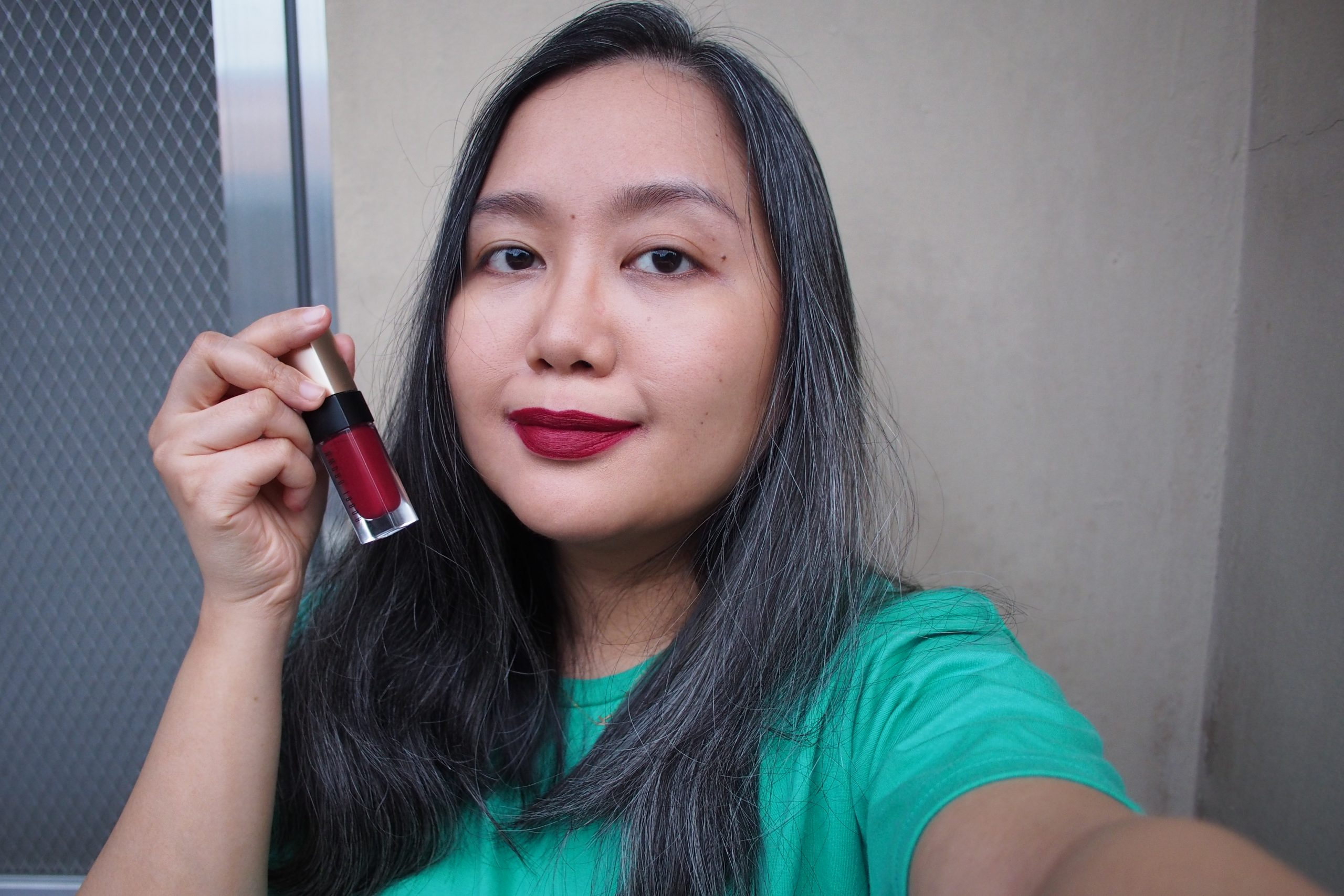 New Year, New Lipstick: First Impressions BOBBI BROWN LUXE LIQUID LIP VELVET MATTE in YOUR MAJESTY