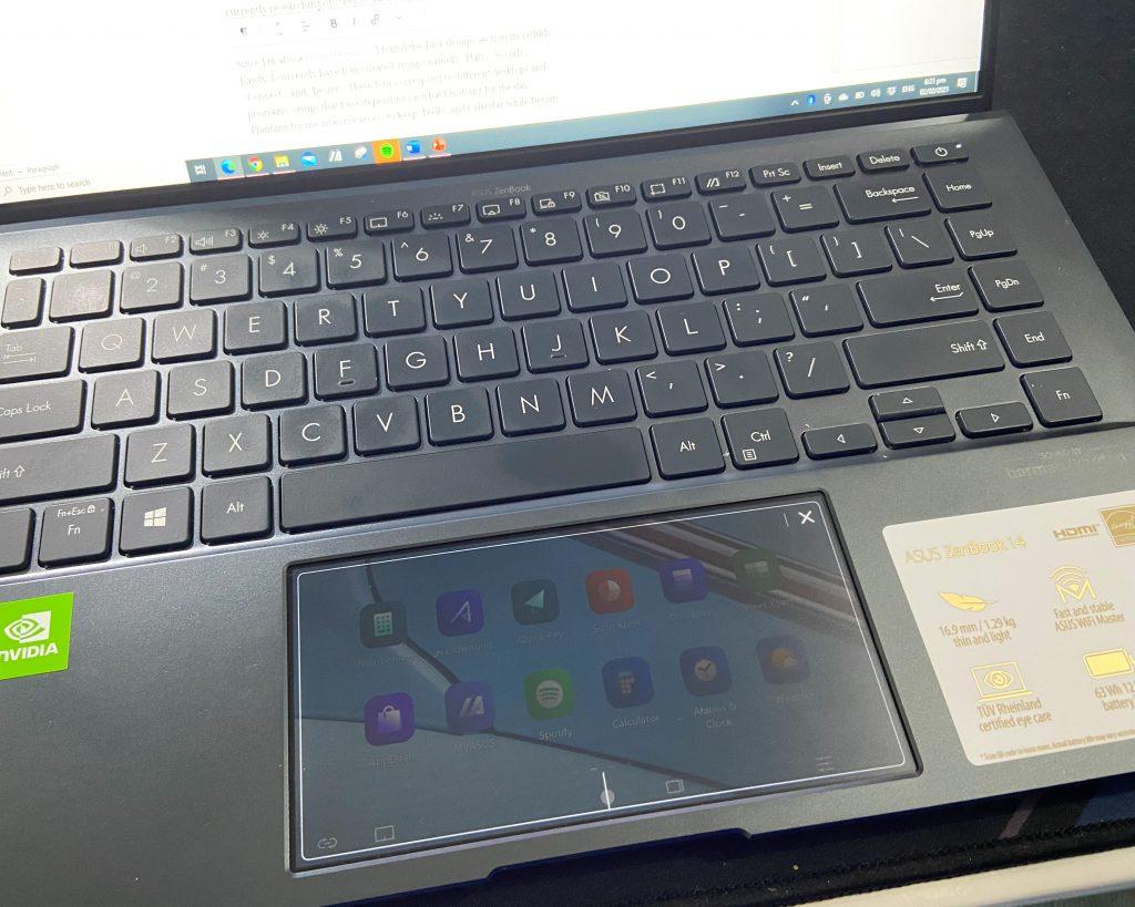 Asus Zenbook 14 ScreenPad 2.0
