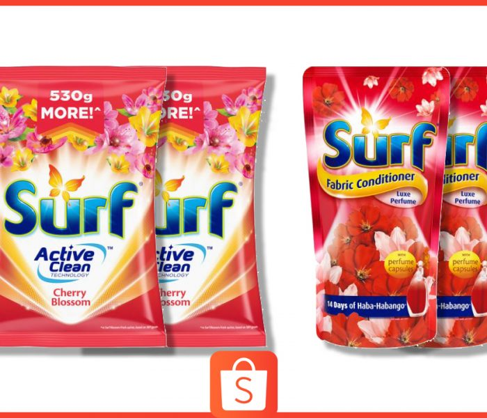 Shopping for Clothes Online? Keep Them Clean and Fresh with the Surf Power Combo