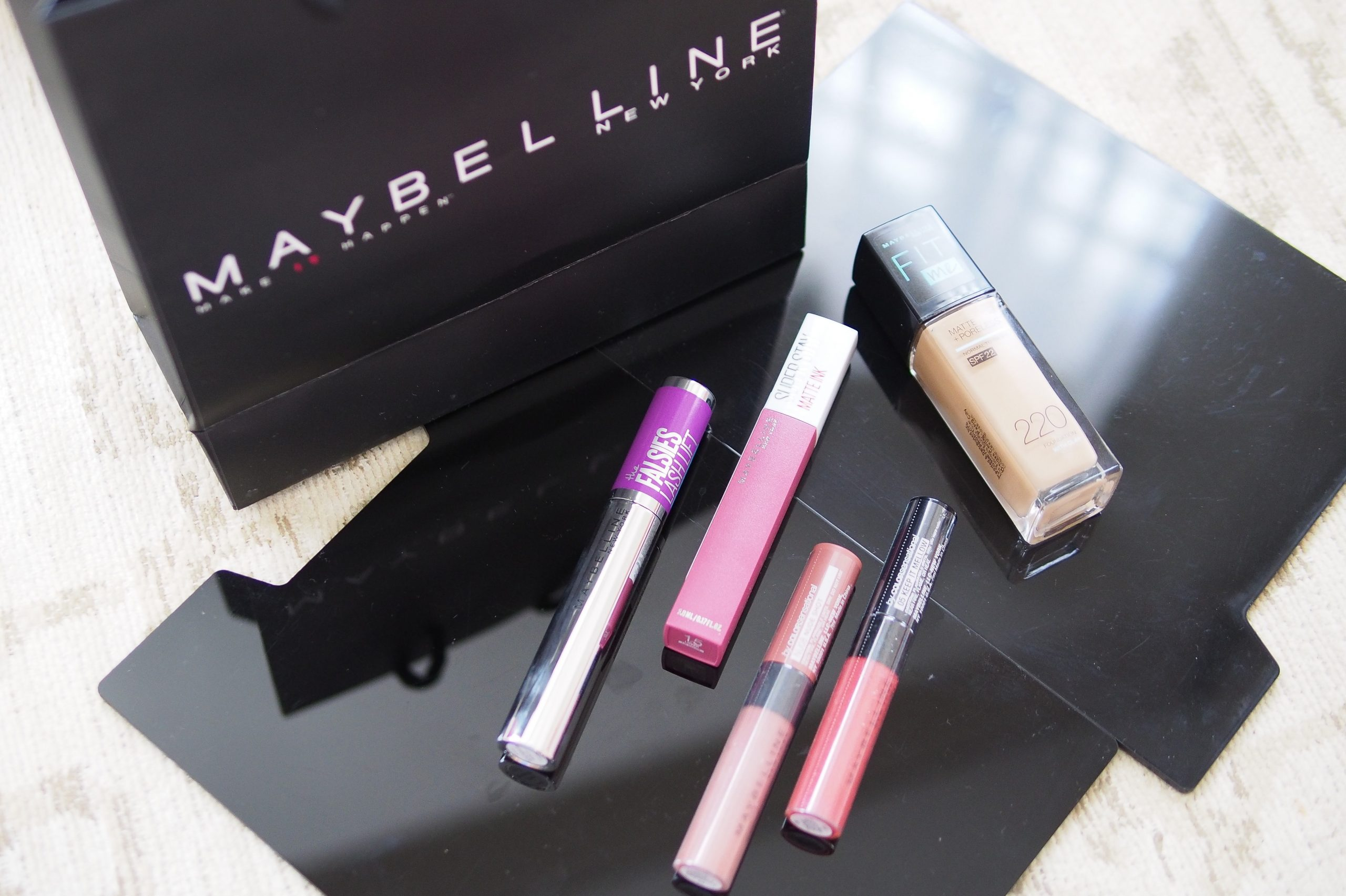 Get up to 50% off on Maybelline Favorites during their Shopee Super Brand Day Sale