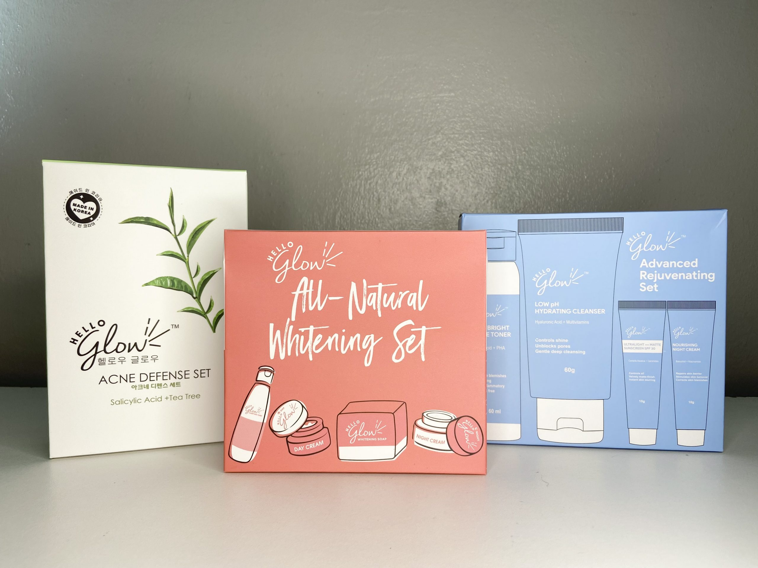 6.6 Mid-Year Sale: Hello Glow Skincare Sets x Shopee