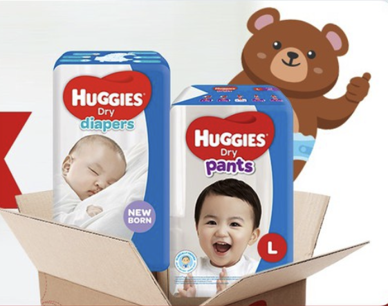 Shopee 7.7: Huggies Double Deals up to 30% Off!
