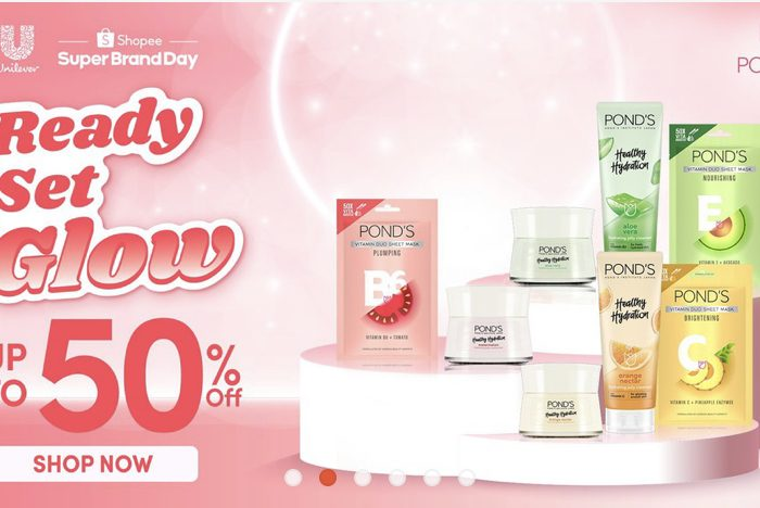 Shopee Beauty: Pond's Beauty Favorites on Sale This August up to 50% off
