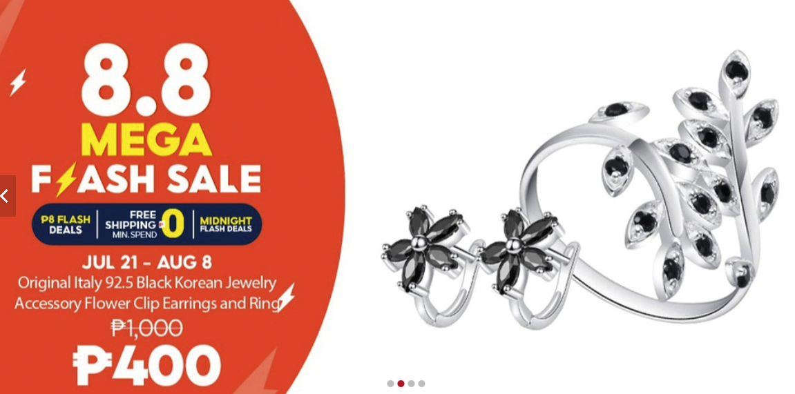 Shopee 8.8 Mega Flash Sale: Silver Kingdom