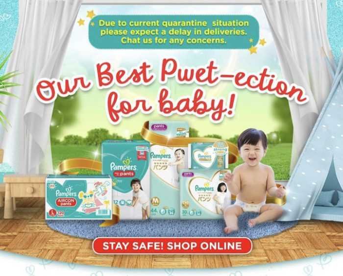 10.10 Big Brand Giveaways: Follow Pampers on Shopee Today & Get up to P10k+ worth of Prizes
