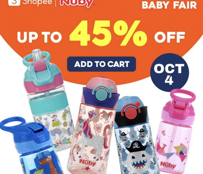 10.10 Big Brand Giveaways: Today is Nuby x Shopee Day!